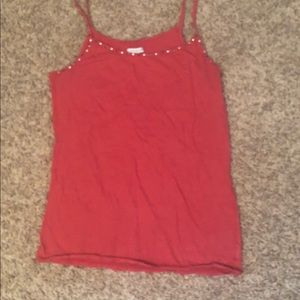 American Eagle outfitters pink Cami
